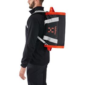 Haglöfs Lava 30 Duffel Bag, true black/habanero